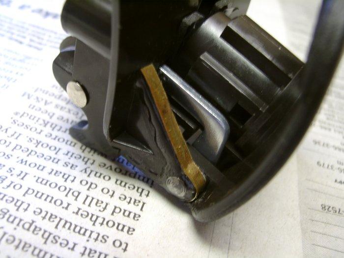 escalade glove box how to open
