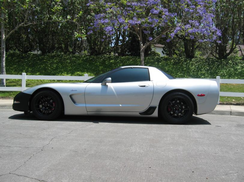 fs  machine silver    miles zvettecom corvette  forum