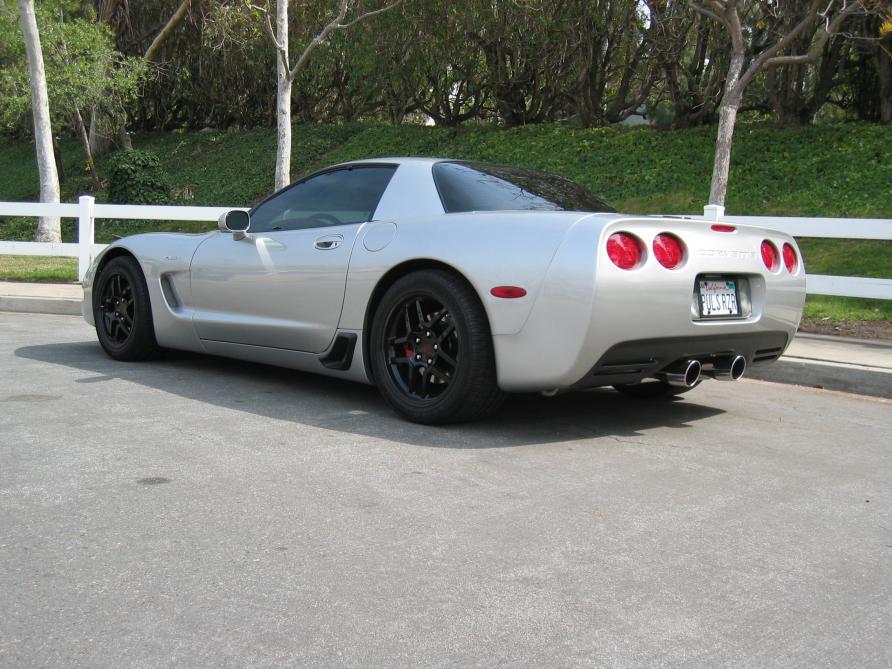 2001 Black Corvette 2001 Black Chevrolet Corvette Z06