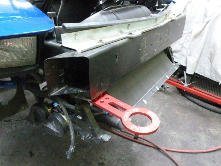 02 Z06 Tow Hook Mods And Suspension Mods Z06vette Com