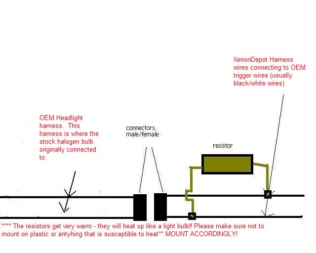 hid resistor wiring diagram wiring diagram rh w23 woonaccentbreda nl