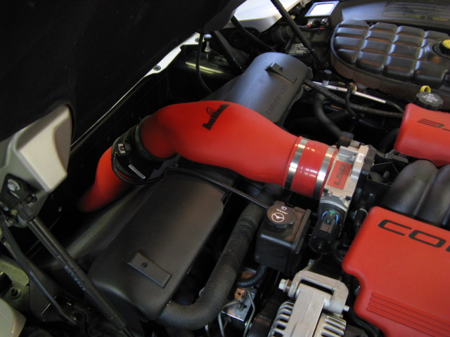 Halltech Trap Intake Red With Filter Z06vette Com