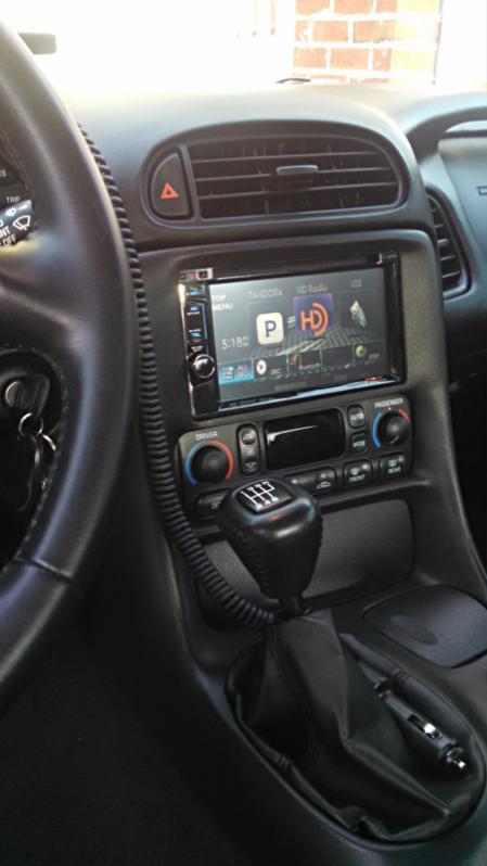 Double Din Stereo Into C5z06 - Z06vette Com