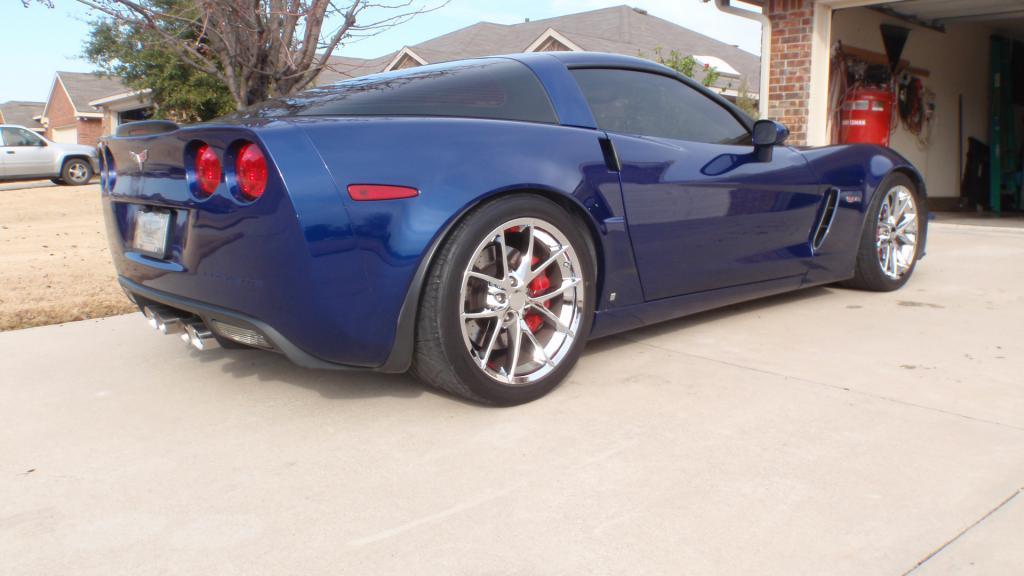 Lowered 2 Quot With 345 Invos Pics Z06vette Com Corvette Z06 Forum