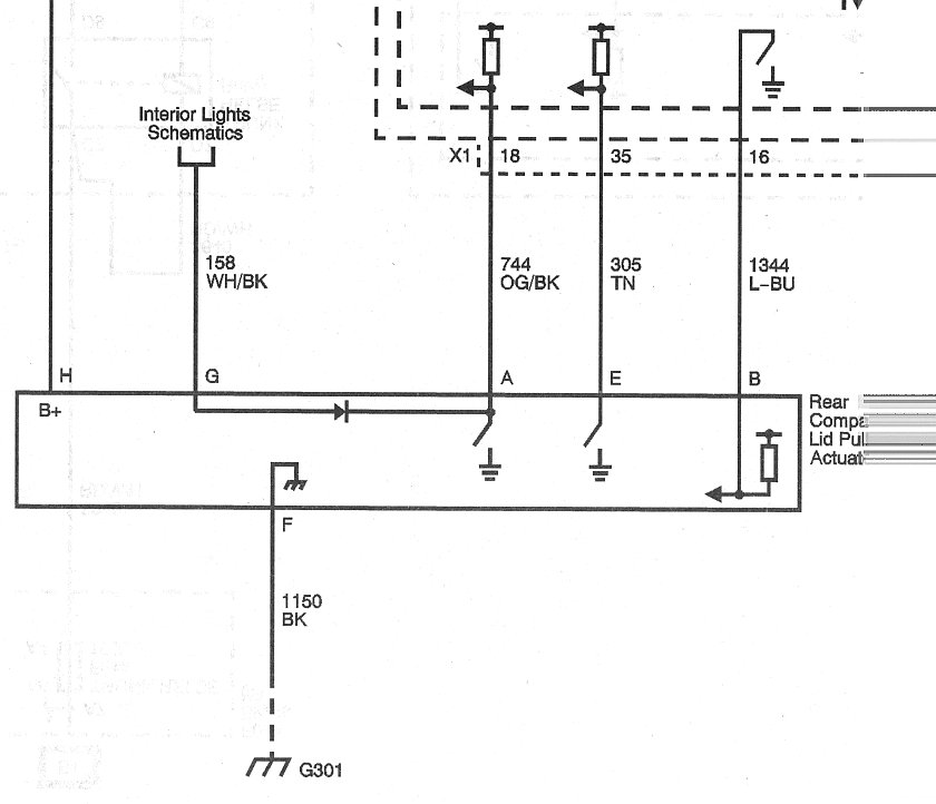 Trunk Lights Problem / Not Working (Tried new bulbs) - Z06Vette.com on piping schematics, plumbing schematics, transmission schematics, design schematics, computer schematics, tube amp schematics, circuit schematics, transformer schematics, ductwork schematics, ecu schematics, wire schematics, amplifier schematics, electrical schematics, engine schematics, ford diagrams schematics, electronics schematics, generator schematics, engineering schematics, motor schematics, ignition schematics,