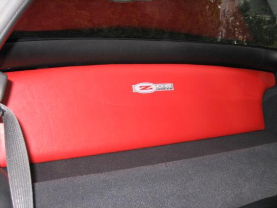 Z06 Corvette For Sale >> JL Stealthbox for C5, Custom Partition Mod red w z06 logo ...