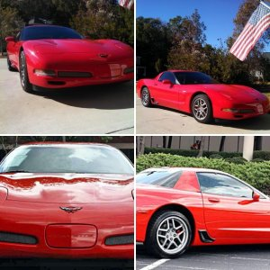 2002 C5 Z06 (Torch Red)   In the beginning...